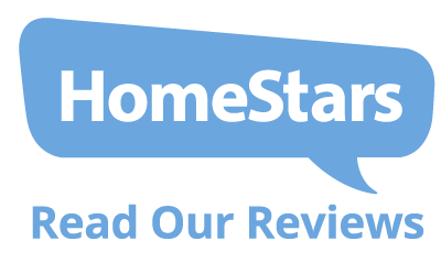 Visit HomeStars to see our clients testimonials and reviews!